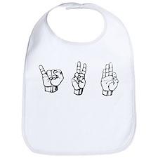 IVF (fingerspelling) Bib