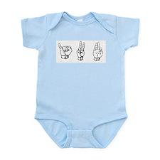 IVF (fingerspelling) Infant Bodysuit
