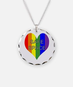 Safe Space In Heart Necklace