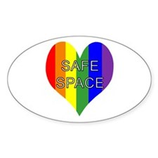 Safe Space In Heart Decal
