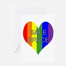 Safe Space In Heart Greeting Card