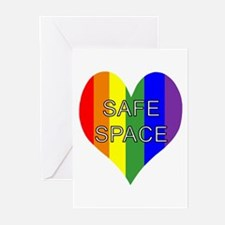 Safe Space In Heart Greeting Cards (Pk of 10)