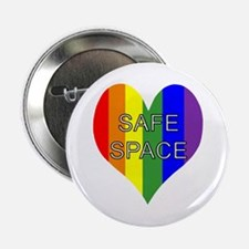 "Safe Space In Heart 2.25"" Button"