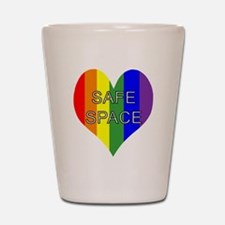 Safe Space In Heart Shot Glass