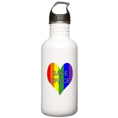 Safe Space In Heart Water Bottle