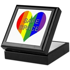Safe Space In Heart Keepsake Box