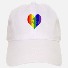 Safe Space In Heart Baseball Baseball Cap