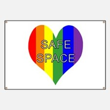Safe Space In Heart Banner