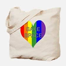 Safe Space In Heart Tote Bag