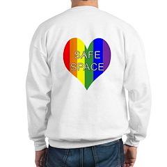 Safe Space In Heart Sweatshirt