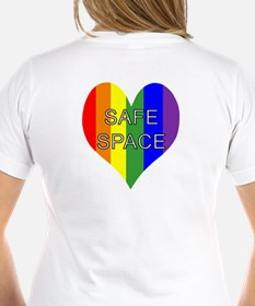 Safe Space In Heart Shirt
