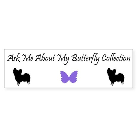 Butterfly Collection Bumper Sticker
