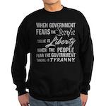 Jefferson on Liberty Sweatshirt (dark)