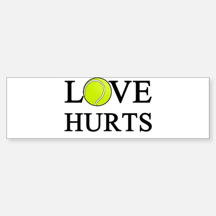 Love Hurts (light) Bumper Bumper Sticker