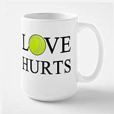 Love Hurts (light) Ceramic Mugs