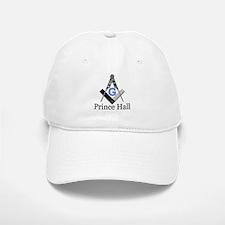 Prince Hall Square and Compass Baseball Baseball Cap