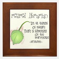 Retired Teacher Framed Tile