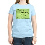 I Love Grass Women's Pink T-Shirt