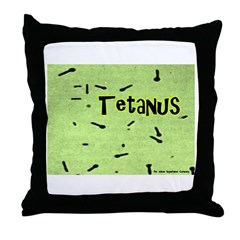 I Love Grass Throw Pillow