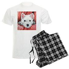 Westie Puppy Love Pajamas