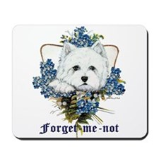 Forget Me Not Mousepad