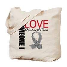 Brain Tumor Needs A Cure Tote Bag