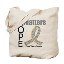 Brain Tumor Hope Matters Tote Bag