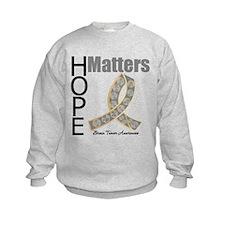 Brain Tumor Hope Matters Sweatshirt