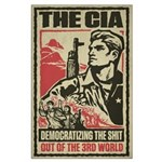 CIA Drone Large Poster