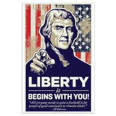 Jefferson Liberty Posters