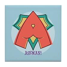 Assman! Tile Coaster