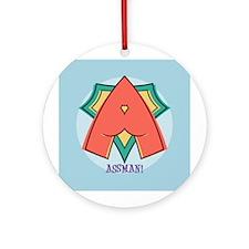Assman! Ornament (Round)
