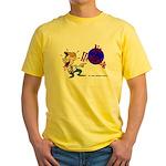 No Heckling Comedian Yellow T-Shirt