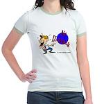 No Heckling Comedian Jr. Ringer T-Shirt