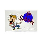 No Heckling Comedian Rectangle Magnet (10 pack)