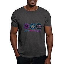 PEACE HEART BABY GIRL T-Shirt
