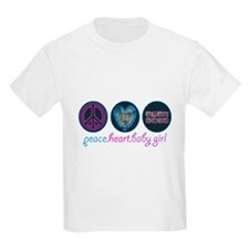 PEACE HEART BABY GIRL T-Shirt