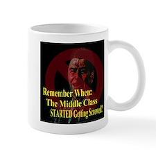 Reagan Screwed Middle Class Mug