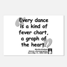Graham Dance Quote Postcards (Package of 8)