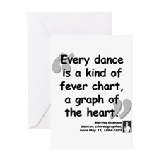 Graham Dance Quote Greeting Card