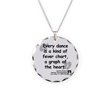 Graham Dance Quote Necklace
