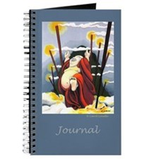 Happy Buddha Journal Blue