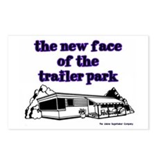 New Face Of The Trailer Park Postcards (Package of