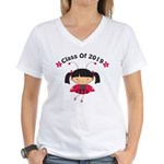2019 Class Women's V-Neck T-Shirt