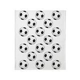 Soccer blanket Blankets