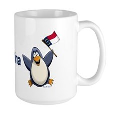 North Carolina Penguin Mug