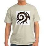Tribal Twirl Light T-Shirt