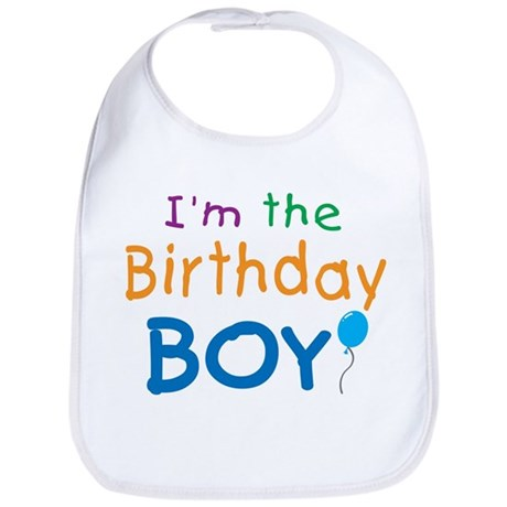 I'm the Birthday Boy Bib