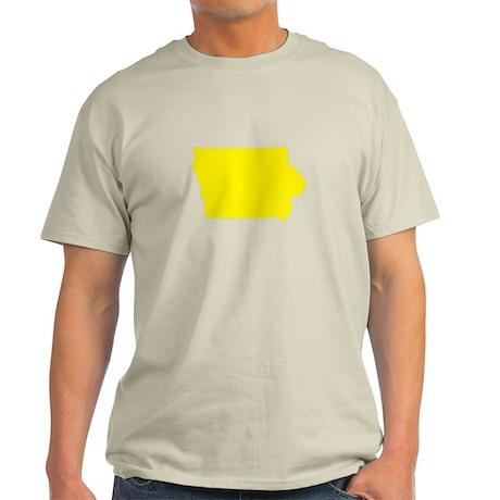 Yellow Iowa Light T-Shirt