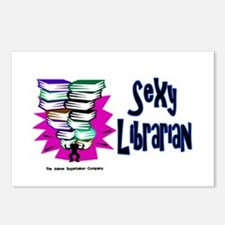 Sexy Librarian Postcards (Package of 8)